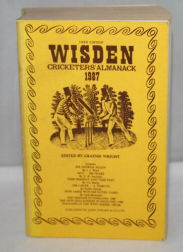 1 of 1 - Wisden Cricketers' Almanack 1997 - Softback