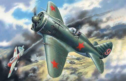 ICM 72072-1:72 Polikarpov I-16 Typ 18 Neu