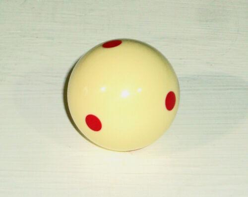 1 7//8 Bola Branca com pontos vermelhos tamanho Piscina do Reino Unido