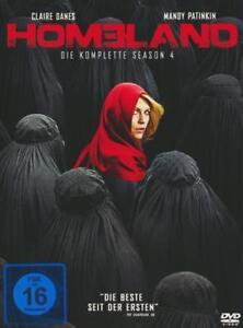 Homeland Season 4 4 Dvds 2015 Günstig Kaufen Ebay