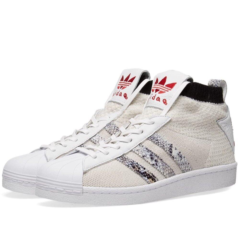 Adidas Originals UAS Ultra Star United Arrows Size 8 B37111 Snake  White