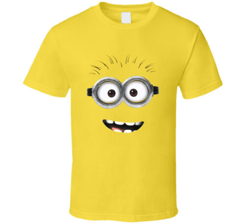 Despicable Me Minion Face Movie T-Shirt Mens Tee Size S 3XL Gift New From US