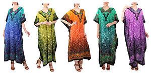 Miss-Lavish-Kaftan-Kimono-Tunic-Dress-Evening-Maxi-Free-Size-14-16-18-20-22-24