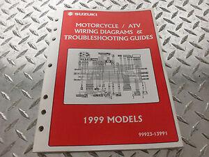 1999 Suzuki Motorcycle & ATV Wiring Diagram Manual 99923 ...
