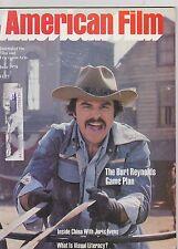 JUNE 1978 AMERICAN FILM vintage movie magazine - BURT REYNOLDS - GAME PLAN