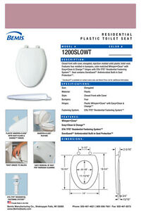 Prime Details About Bemis 1200Slowt 303 Elongated Plastic Slow Close Toilet Seat Dusty Rose Uwap Interior Chair Design Uwaporg