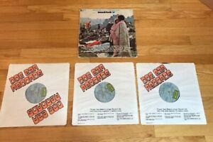 WOODSTOCK-1970-Original-Soundtrack-3-vinyl-album-SD3-500-COTILLION-RECORDS-VG