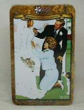 Set of 2 NORMAN ROCKWELL COLLECTORS TIN 500 PIECE JIGSAW PUZZLE Baby Bride