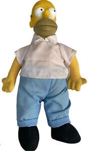 "Vintage 20th Century Fox's The Simpsons 10"" Homer Simpson Plush Doll 1990"
