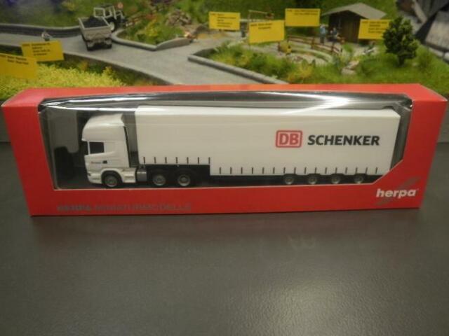 "Herpa 303323 /""DB Schenker/"" SCANIA r09 TL SZ 1:87 top/&ovp"