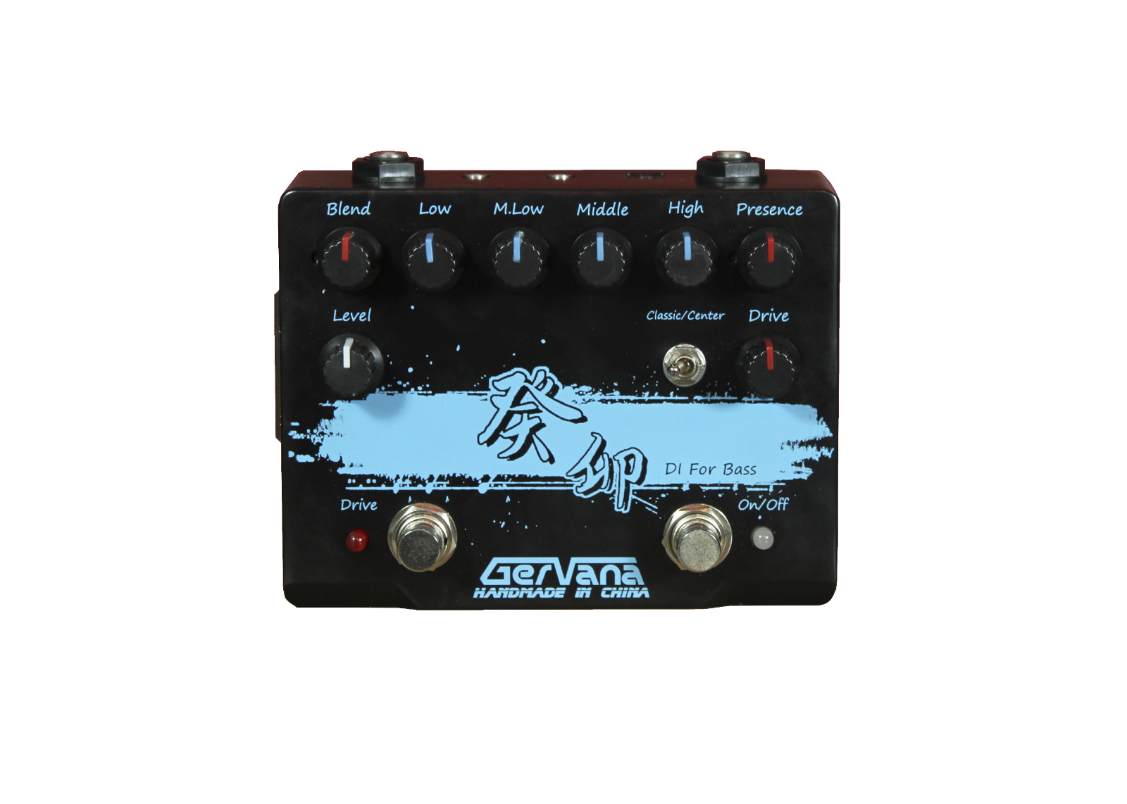 Gervana Gui Mao Hand-wirot Multi Function Bass Direct DI Box with Drive