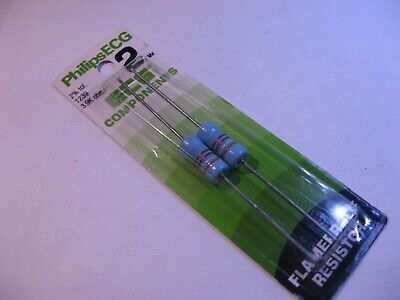 5 Pack Corning Flameproof FP42 56K OHM 2 Watt 5/% Resistors NOS