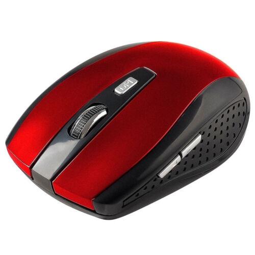 2.4GHz Cordless Wireless Optical Mouse Mice Laptop PC Computer+USB Receiver EN