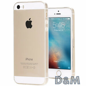 Cover per iPhone SE Apple Ultra Custodia Slim TPU Gel Trasparente + Pellicola