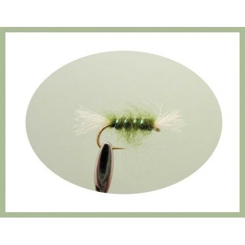 2 Boxed Sets Mixed Dry Nymph Buzzers /& wet Flies Nice Gift Trout Flies 100