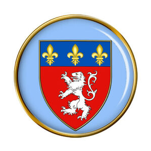 Lyon-France-Broche-Badge