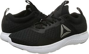 Reebok Men's astroride Run Fire MTM Baskets Chaussures De Course Baskets BS8368 Noir