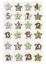 Advent chiffres Mini Bois-chiffres hobbyfun 3d sticker Calendrier de l/'avent Noël