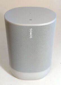 SONOS Move smart Speaker WLAN Bluetooth google Alexa Sprachsteuerung weiß B-WARE