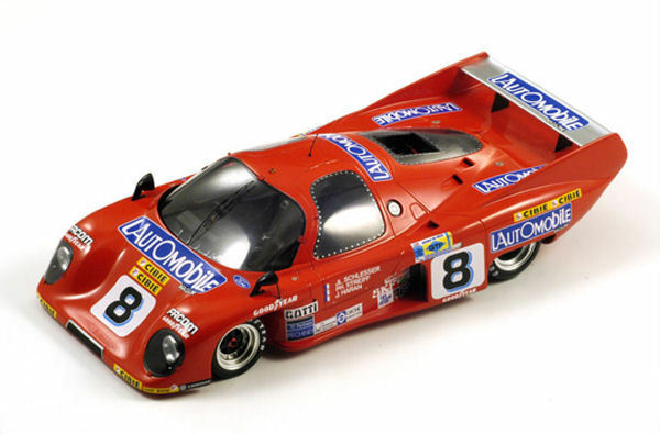 Rondeau M 379  8 2nd Le Mans 1981 1:18 MODEL s18033 SPARK MODEL