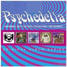 PSYCHEDELIA - ORIGINAL ALBUM SERIES 5 CD NEU