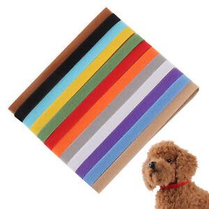 Hot-Sale-12X-Newborn-Adjustable-Puppy-ID-Collar-Reusable-Band-Whelping-Breeders