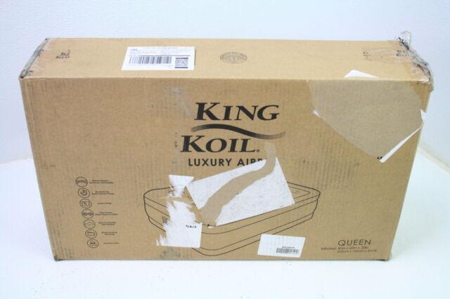 King Koil 29170 Queen Size Air Mattress with Built-in Pump ...