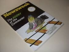 Newsweek Magazine, January 18, 1971, Commuting, Nelson Rockefeller, DDT, Harvard