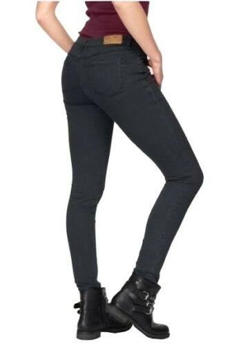 AJC Girls Jeans Röhre K-Gr.17-21 L30 Stretch Skinny Hose Denim Schwarz Slim Fit