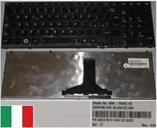 Clavier Qwerty Italien Toshiba Satellite A660 A665 NSK-TQ0QC 9Z.N4YGC.00E Glossy