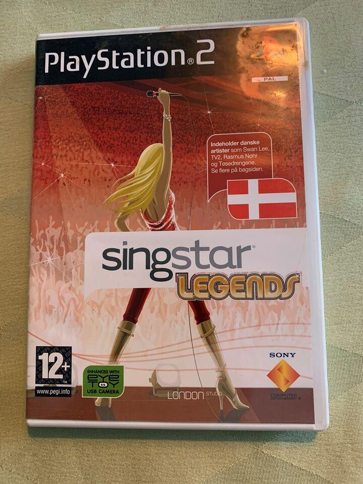 Singstar Legends, PS2, anden genre