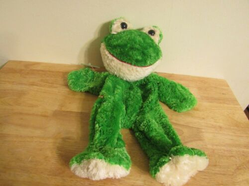 build a bear unstuffed green frog and heart 16/'/'