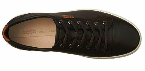 ECCO Men/'s Soft Fashion Sneaker 430004 Black 46 EU US Men/'s 12-12.5 M