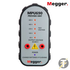 Megger MPU690 690v 2 Pole Voltage & Continuity Tester Proving Unit