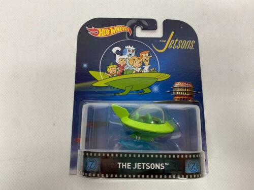 Hot Wheels The Jetsons Capsule Car Die-Cast Retro Entertainment Series