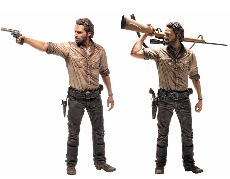 Mcfarlane - The Walking Dead Dead Dead - Rick Grimes  - 10  Inch Deluxe Figure 278696