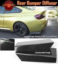 "15"" Rear Bumper Carbon Effect Apron Splitter Diffuser Valence For Honda Acura"