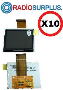 10X MOTOROLA OEM XPR7550 / 7550E LCD 72012010001