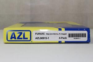 Mz1158-RAR-AZL-American-Z-Line-90915-1-USA-Set-4-tlg-furx-covered-Hopper-Comme-neuf