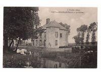 51 - cpa - VERT LA GRAVELLE - Le château  (i 8648)