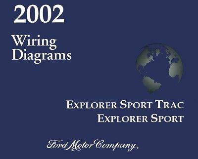 2002 ford explorer sport sport trac wiring diagrams schematics  ebay