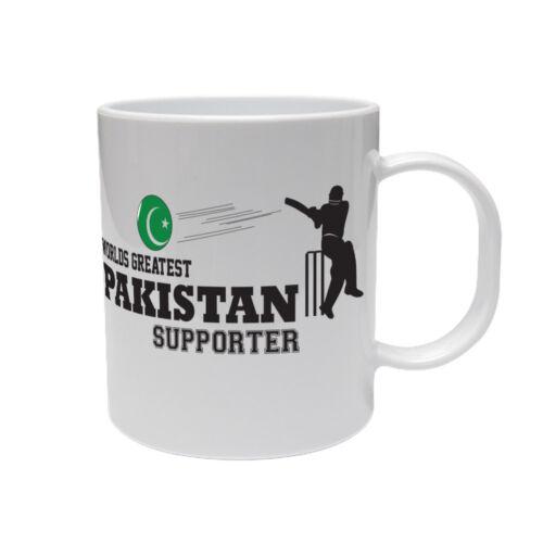 Fun Mug en céramique à thème sport Mondes plus Pakistan partisan-Cricket