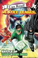 Justice League Classic: Battle of the Power Ring (I Can Read Level 2)-ExLibrary