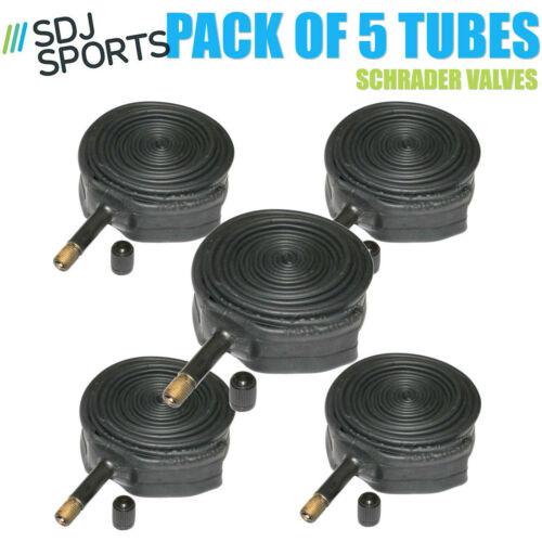 SDJ Sports 700 x 35-38c Hybrid Bike Inner Tubes Schrader Valve Pack  of 5
