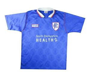 Chesterfield 1996-98 Authentic Home Shirt (eccellente) XL