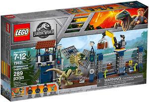 LEGO-Jurassic-World-75931-Angriff-des-Dilophosaurus-passt-zu-75916-Neu-amp-OVP