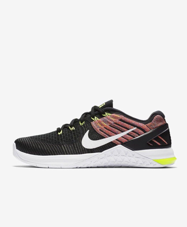 Nike Metcon DSX Flyknit Crossfit UK7.5 EU42 US10 Black 849809 011
