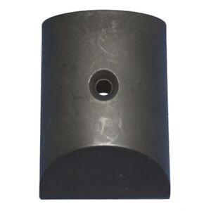 Th Marine Rub Rail End Caps 1 Pair Molded Black Plastic