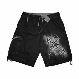 REAPER-Vintage-Cargo-Shorts-Black
