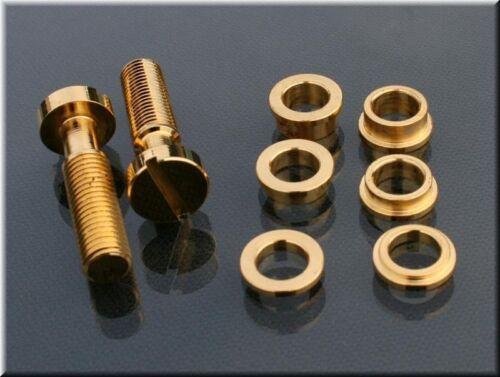 Faber Tone Lock Kit TLI-GG TLIGG Inch thread fits Gibson Les Paul Gold Glossy